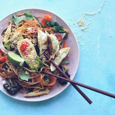 15 minute Vegan Pad Thai