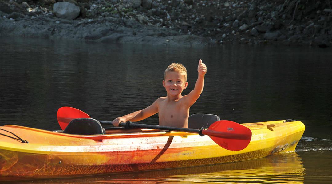 Camping Union, Camping Du Gouffre Kayak et Canot disponible