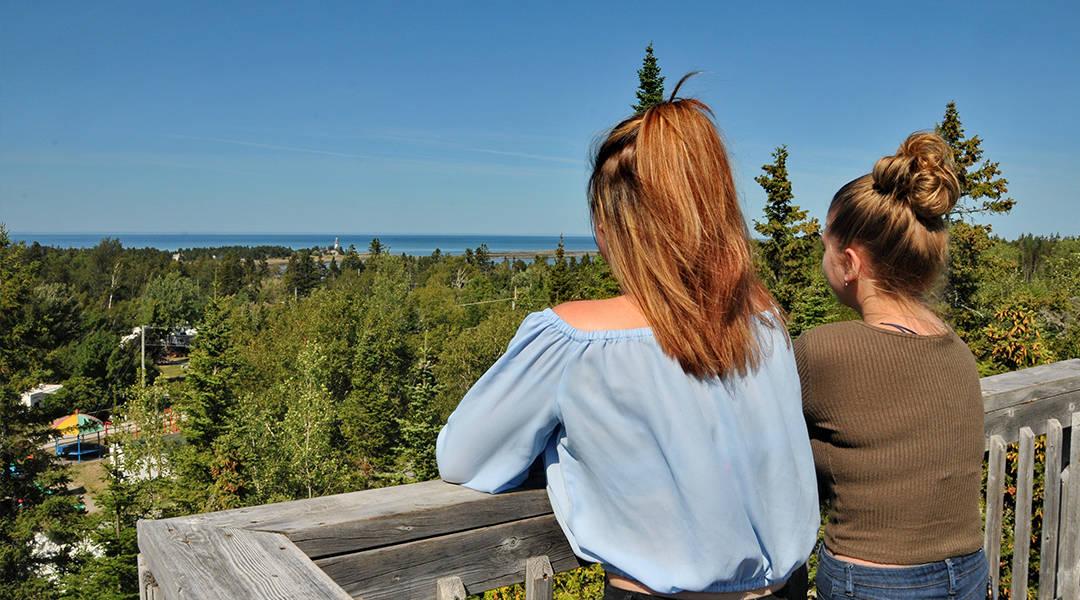 Camping Union - Camping Annie en Gaspésie