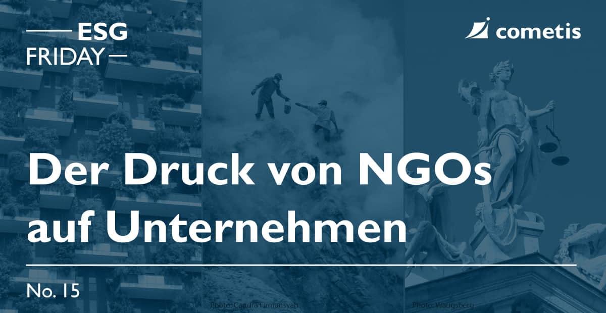 ESG Banner-Der Druck von NGOs auf Unternehmen