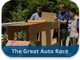 team building activities construction challenges the great auto race