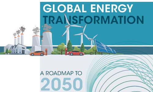 Global Energy Transformation Path to 2050