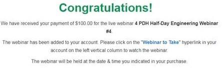 Webinar thank you
