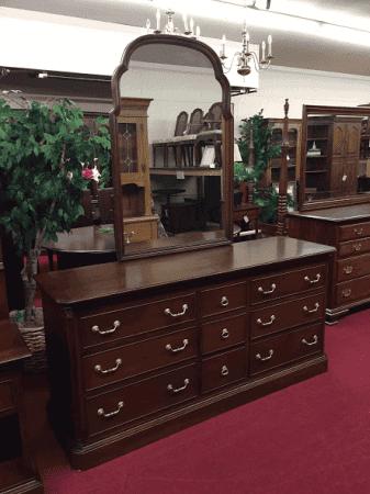 Ethan Allen Dresser with Mirror