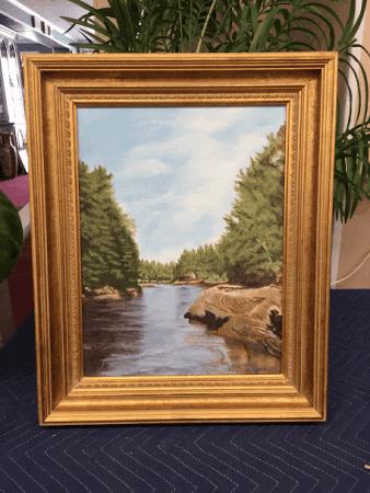 Original Framed Artwork - Oil on Board