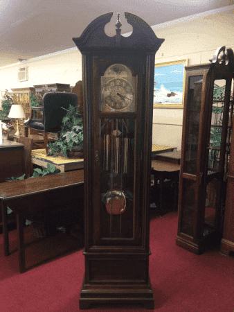 Vintage Seth Thomas Grandfather Clock