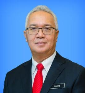 YBhg. Datuk Zainal Abidin Bin Abu Hassan profile MOSTI