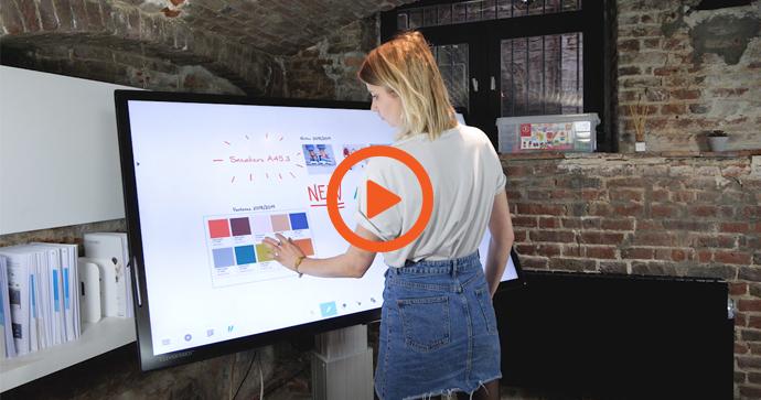 La vidéo de démonstration du logiciel professionnel Lynx Pro sur écran interactif