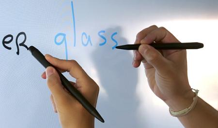 deux stylets différenciés pour écran tactile