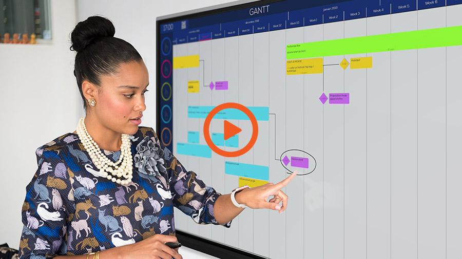 Ubikey logiciel de gestion de projet compatible écran interactif