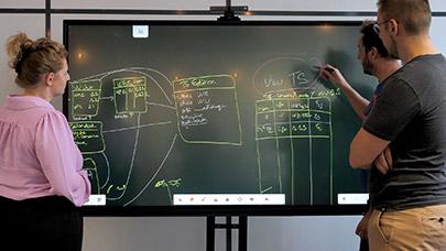 tableau blanc tbi sur écran interactif eni